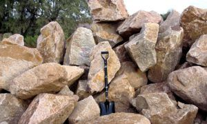 Boulders and Flagstone
