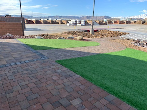 Pavers and Turf in Las Vegas
